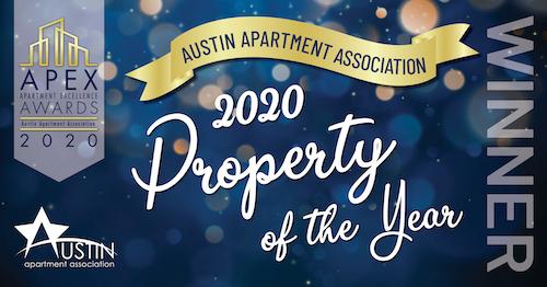 Apex Apartment Excellence Award