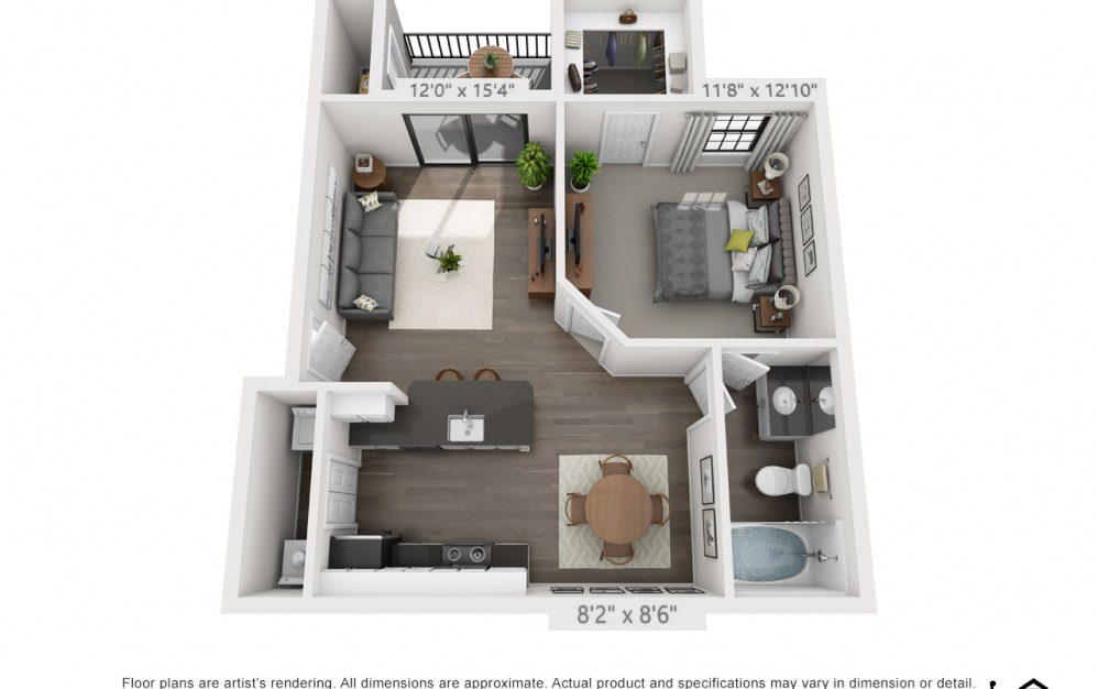 floorplan detail image A2